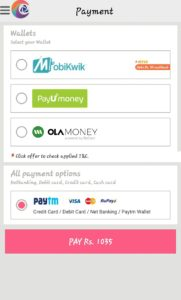 india railway ticket booking payment
